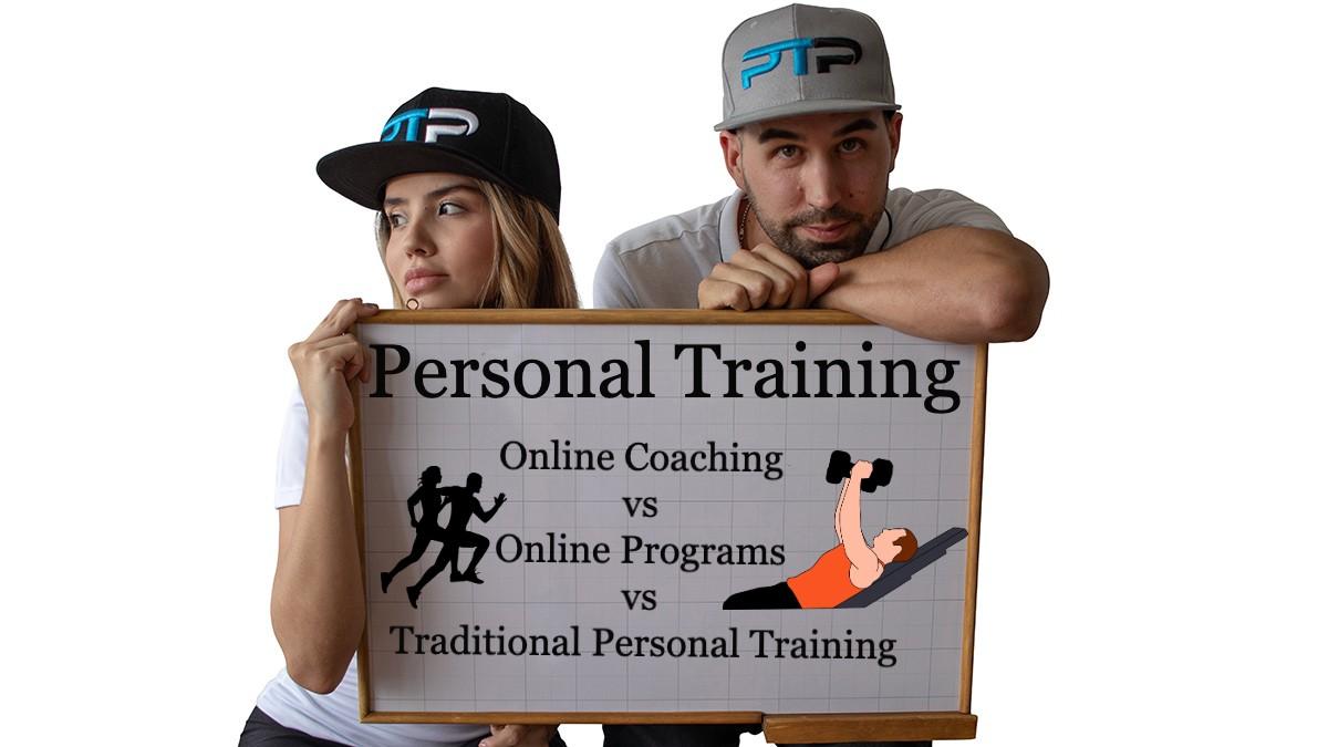 Personal Training: Online Coaching vs Online Programs vs Traditional Personal Training