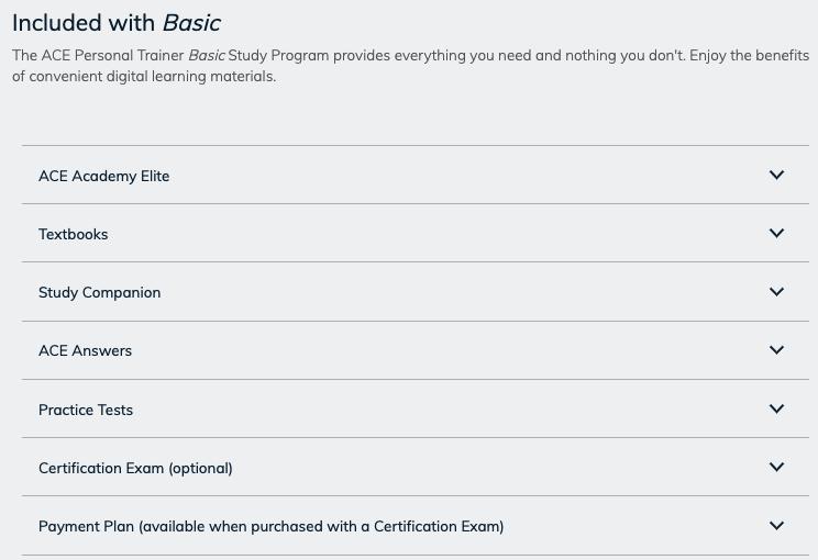 The Basic Study Program