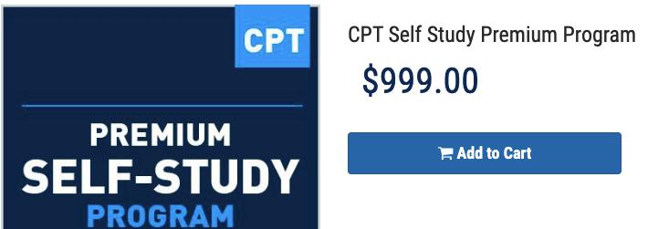 NASM CPT Self study premium program