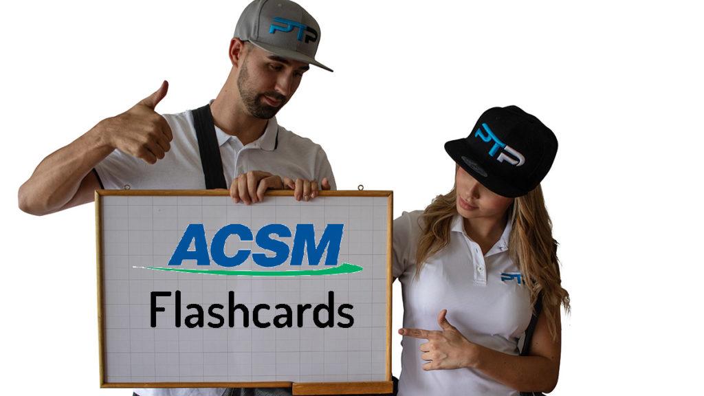 ACSM Flashcards