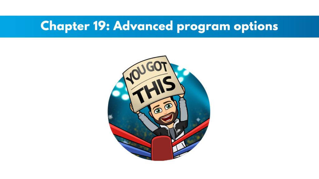 ACSM CPT Chapter 19: Advanced Program Options