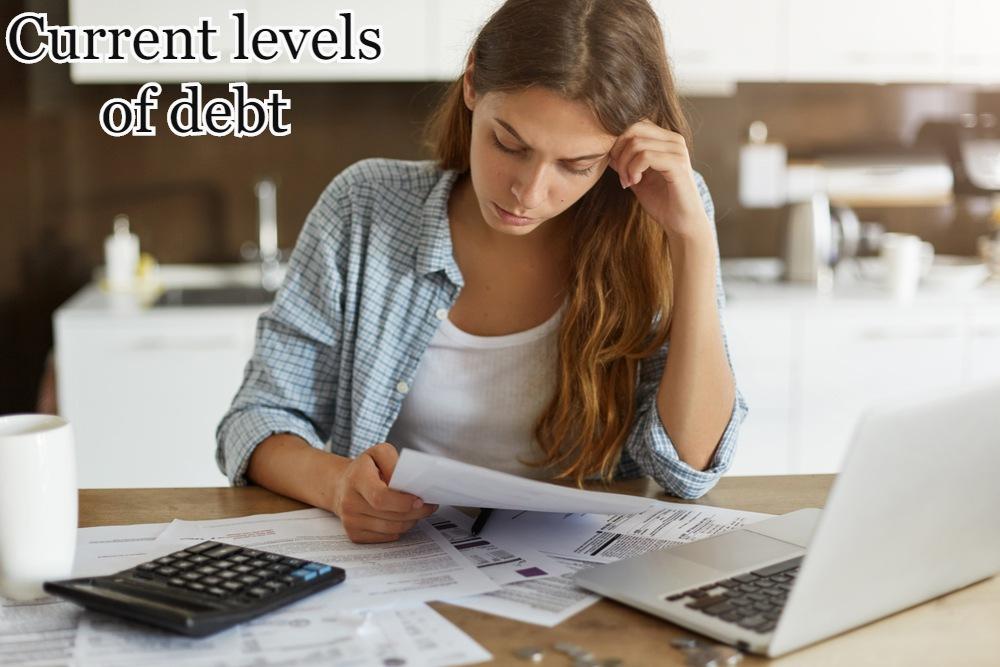 Current levels of debt