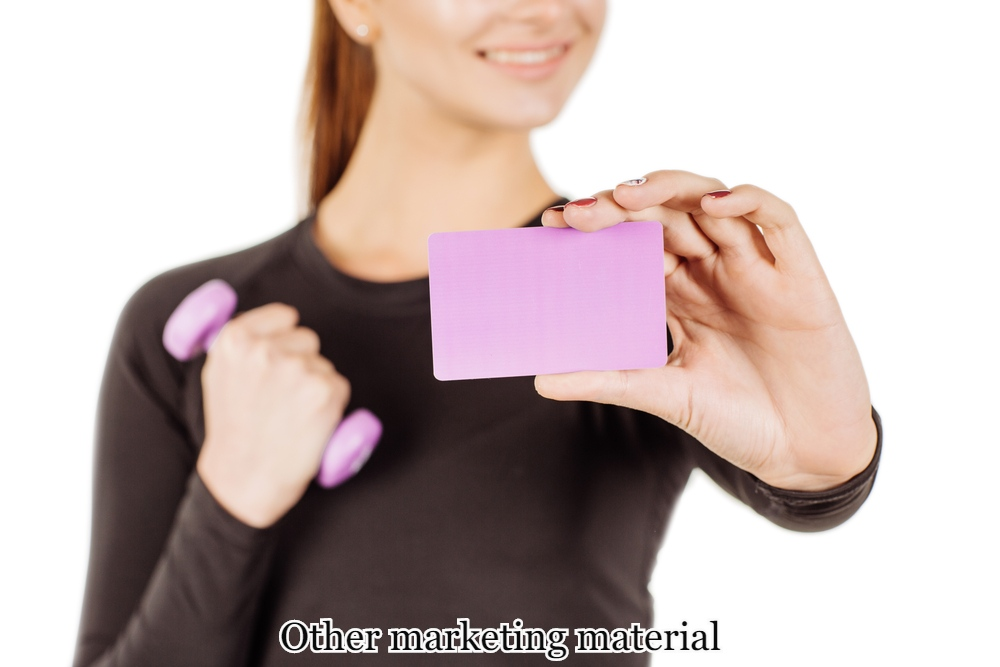 Other marketing material