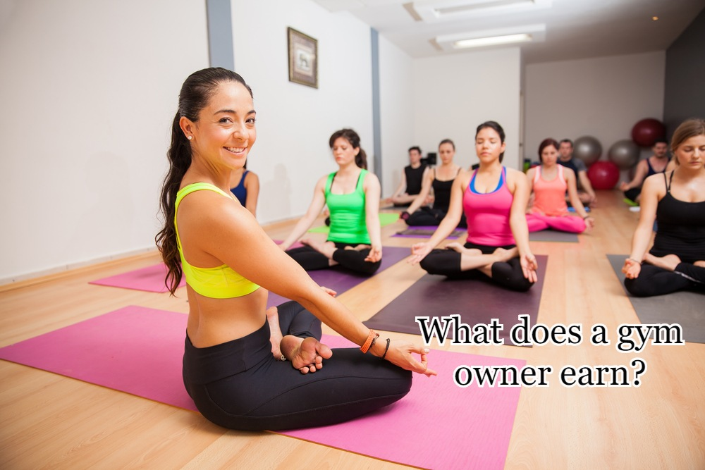 What does a gym owner earn?