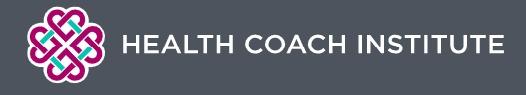 Health Coach Institute Become A Health Coach Certification