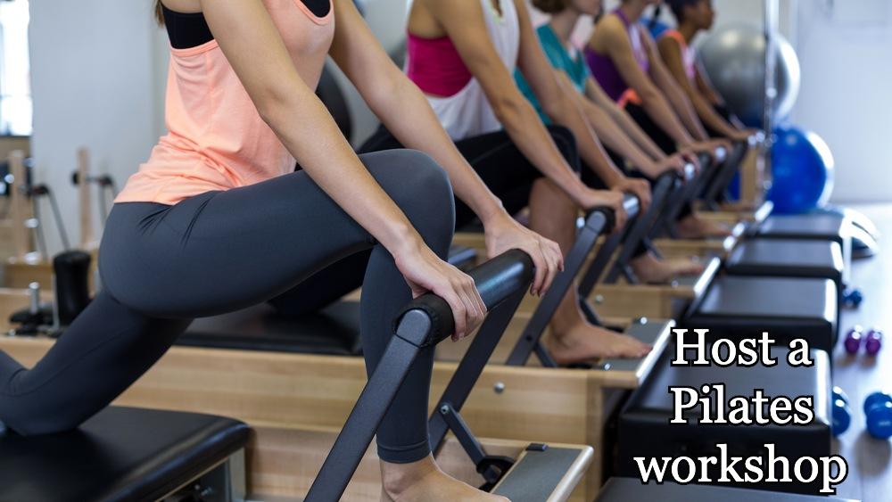 Host a Pilates workshop