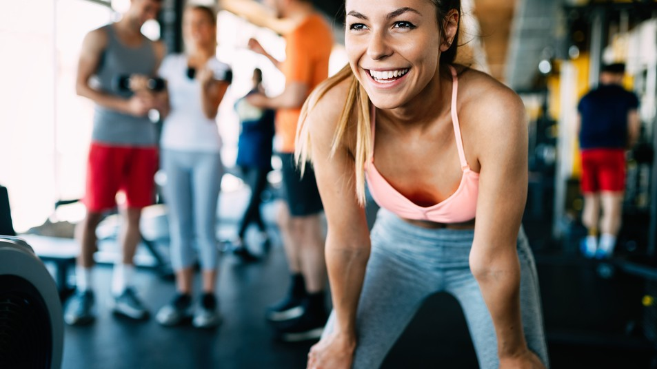 A happy client makes Personal training great
