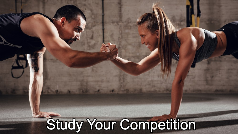 Study Your personal training  Competition