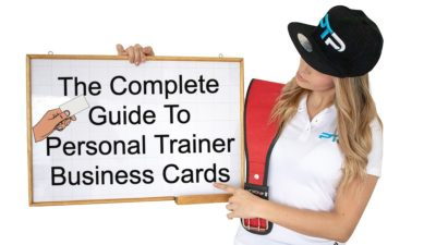 Personal Trainer Business Cards - The Complete Guide