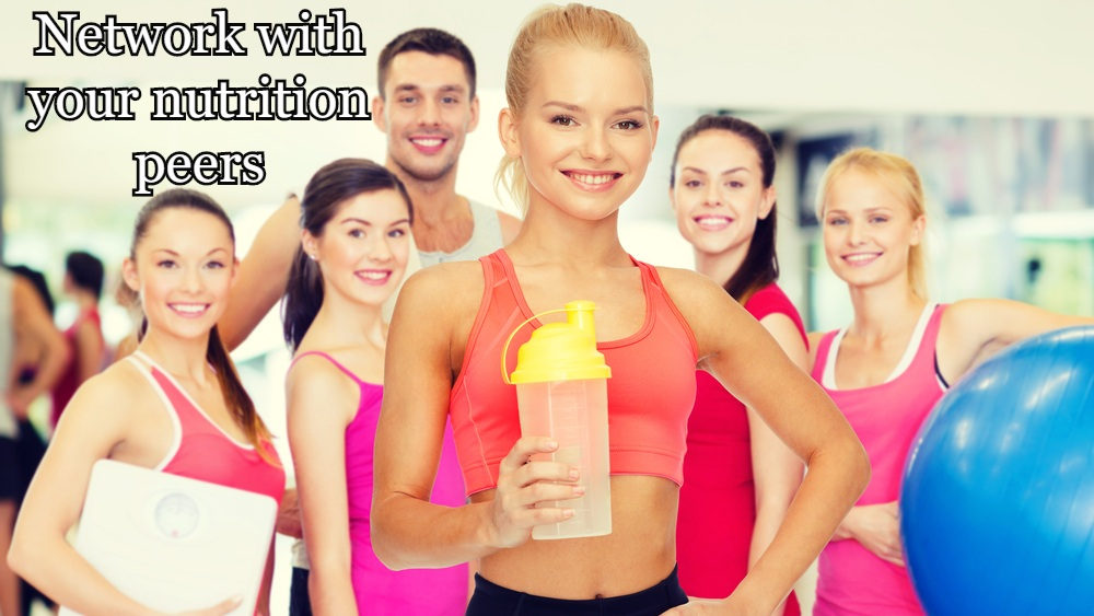 Network with your nutrition peers