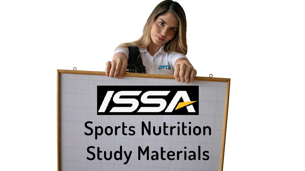 FREE ISSA Nutrition Study Guide + ISSA Practice Test + Flashcards