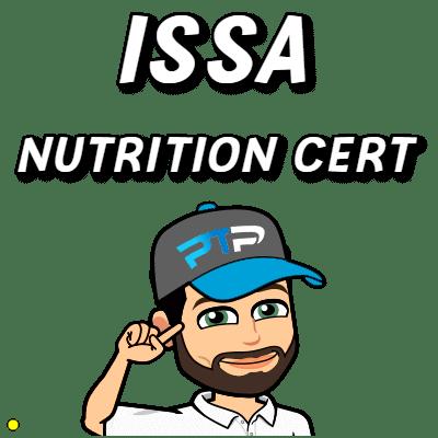 International Sports Sciences Association (ISSA) Nutrition certification