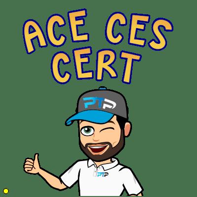 ACE CES cert