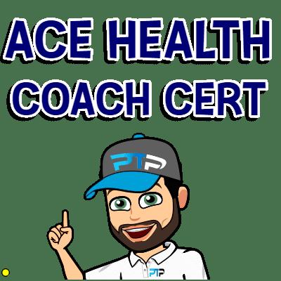 ACE health coach cert