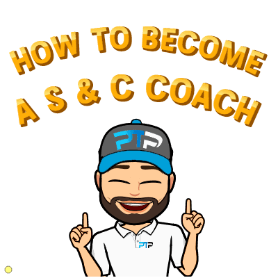 How to become a S and C coach