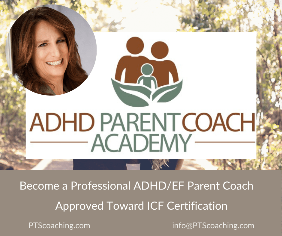 ICF Certification by Becoming an ADHD Parent Coach