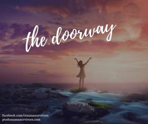 the dorrway