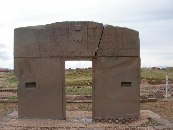 Puerta Del Sol Gate Of Sun Lake Titicaca Ptserg212
