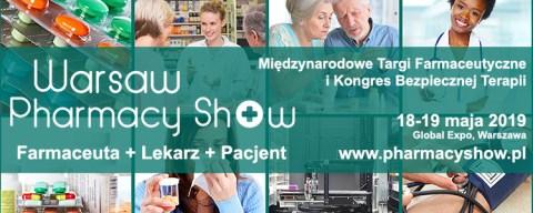 Pierwsza edycja Warsaw Pharmacy Show już wmaju!