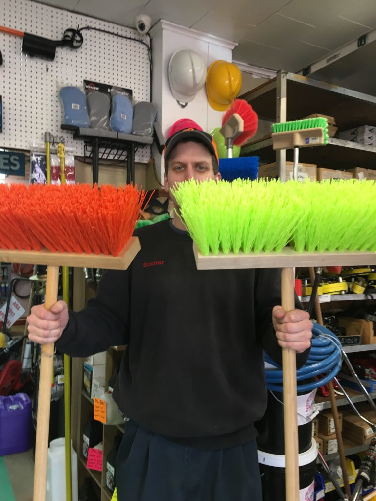 MARSHALLTOWN and MAGNOLIA - BRUSHES and BROOMS