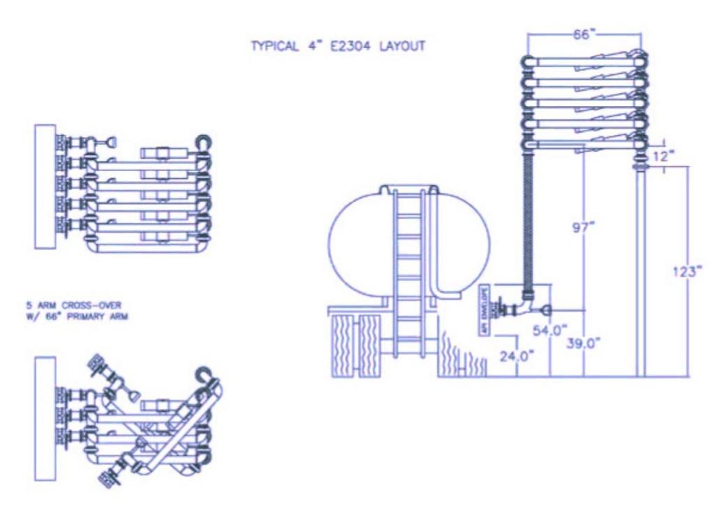 E2304-5 arm cross-over