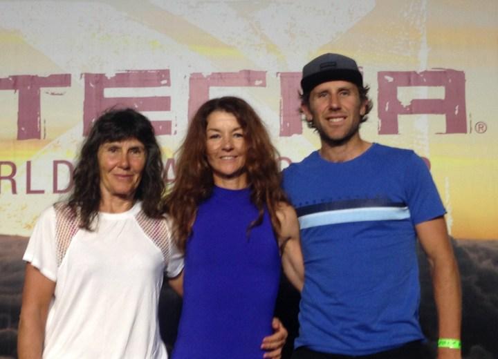 Seonaigh Conchie (middle) & Sharon Prutton (left)