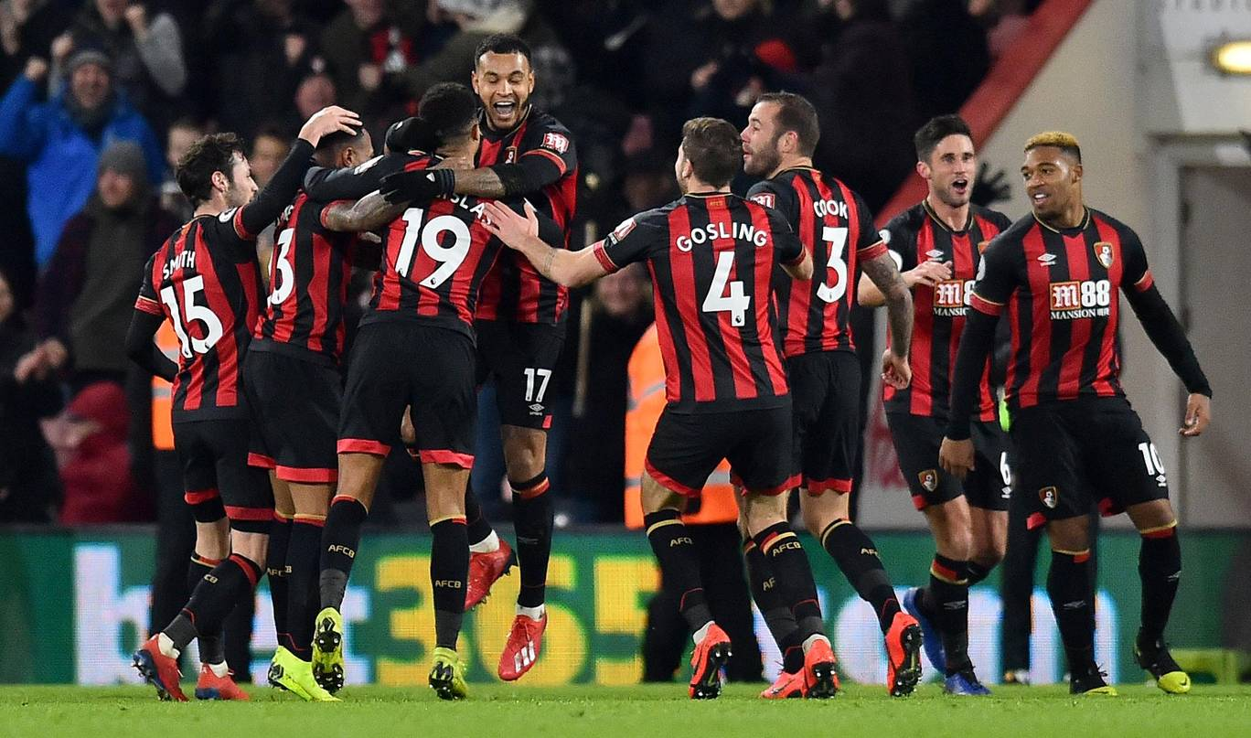 Bournemouth dent Chelsea's top-four hopes with 4-0 win