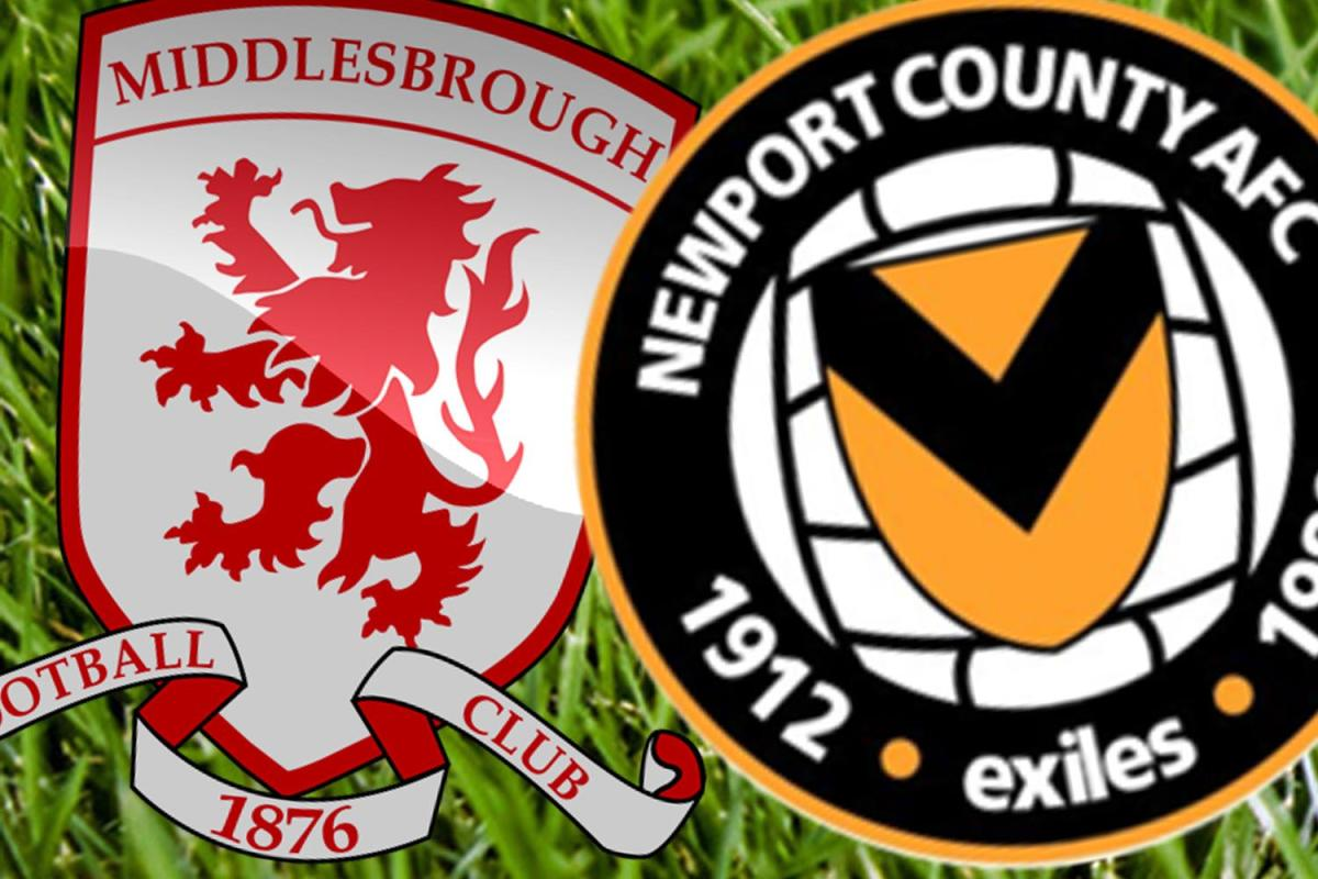 Newport stun Middlesbrough to set up dream Man City Cup tie
