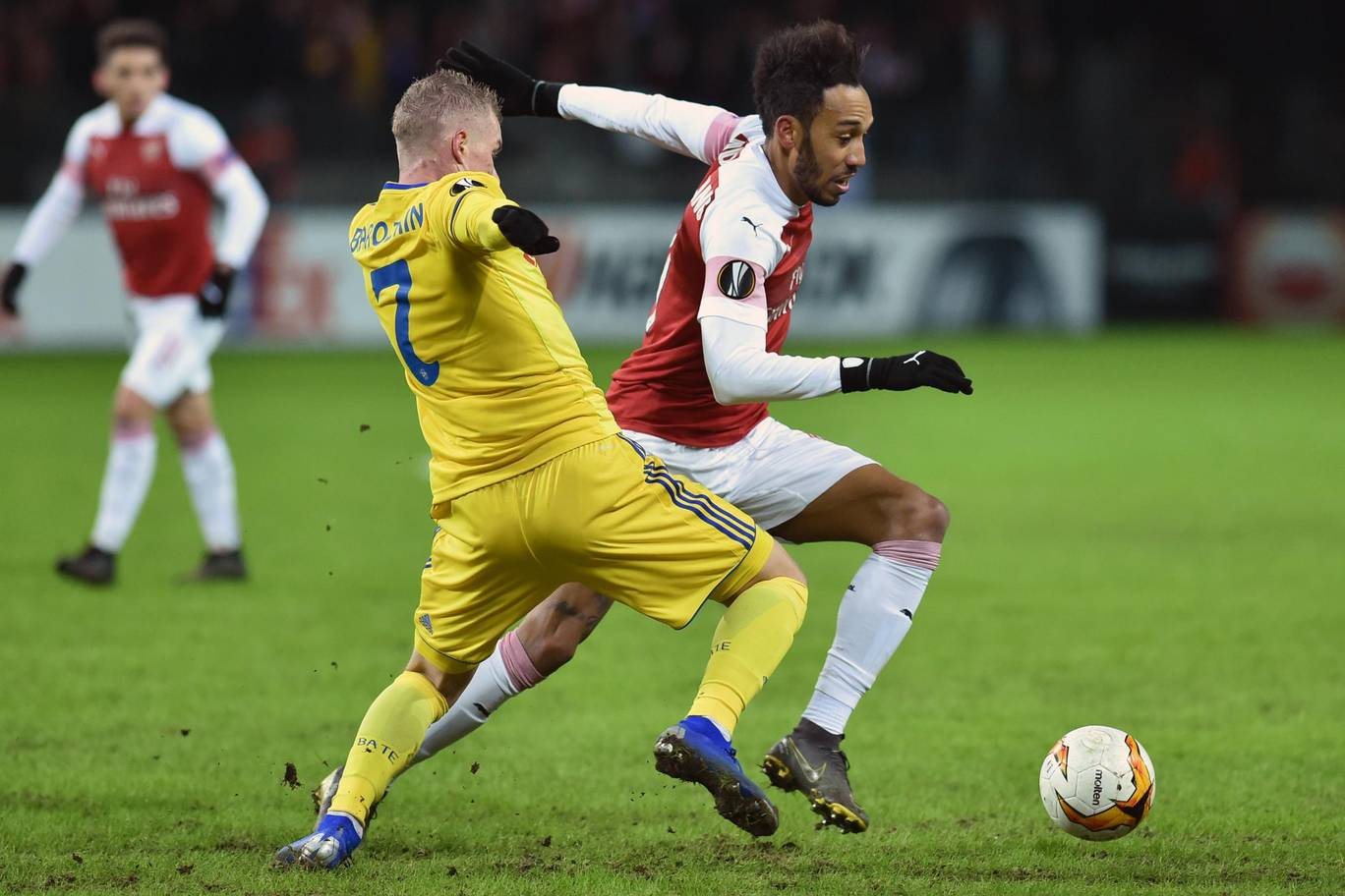 Arsenal lose at BATE as Inter, Sevilla, Benfica win in Europa League