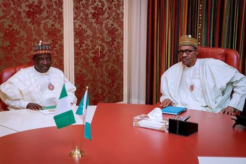 I Visited Buhari To Discuss Security Apparatus For Supplementary Elections, Says Lalong