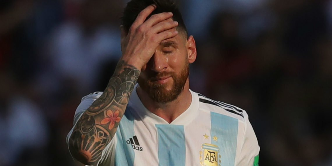 'My son asked me why they want to kill me!' – Messi