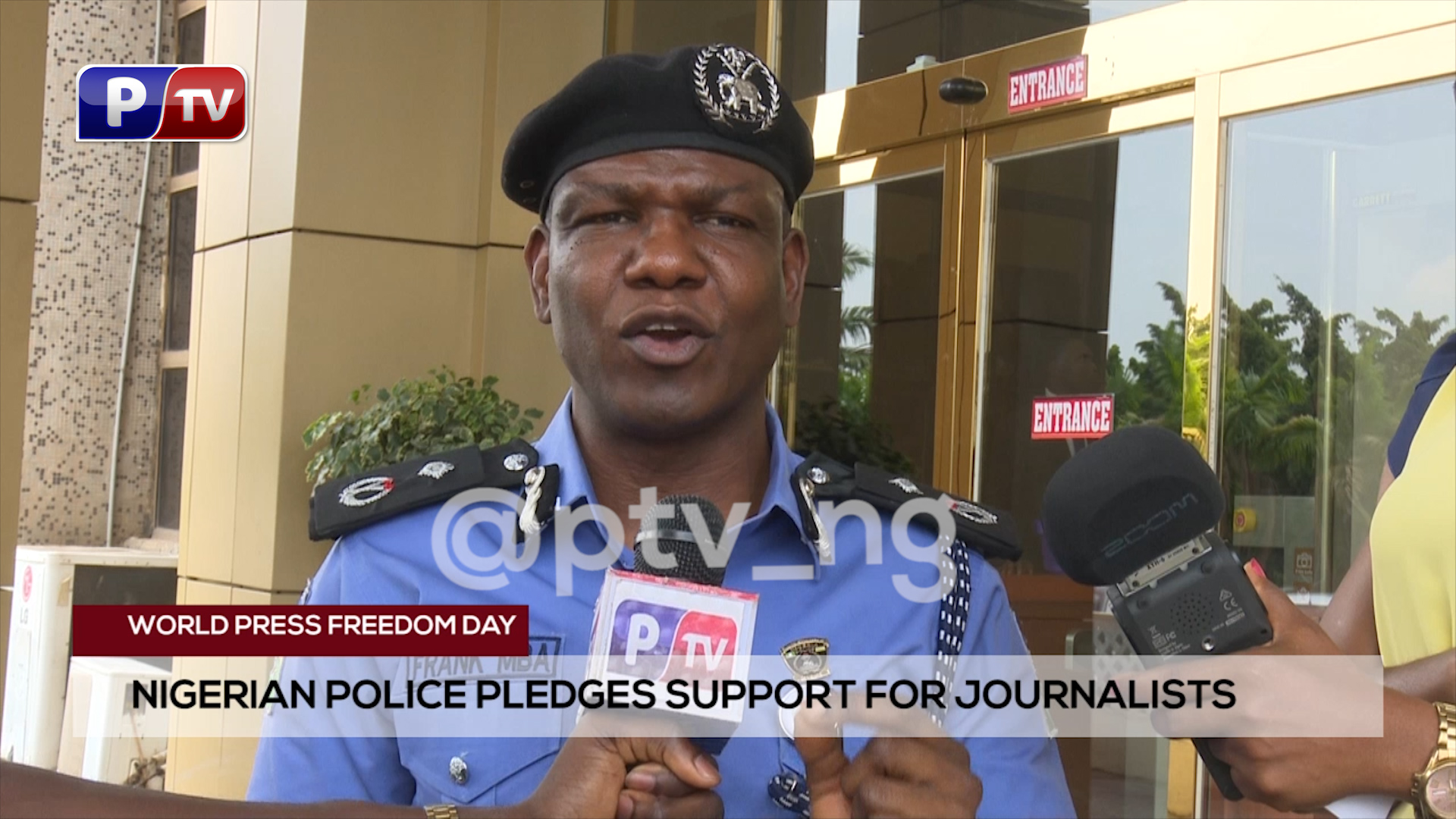 [VIDEO]World Press Freedom Day: Nigerian police pledges support for journalists