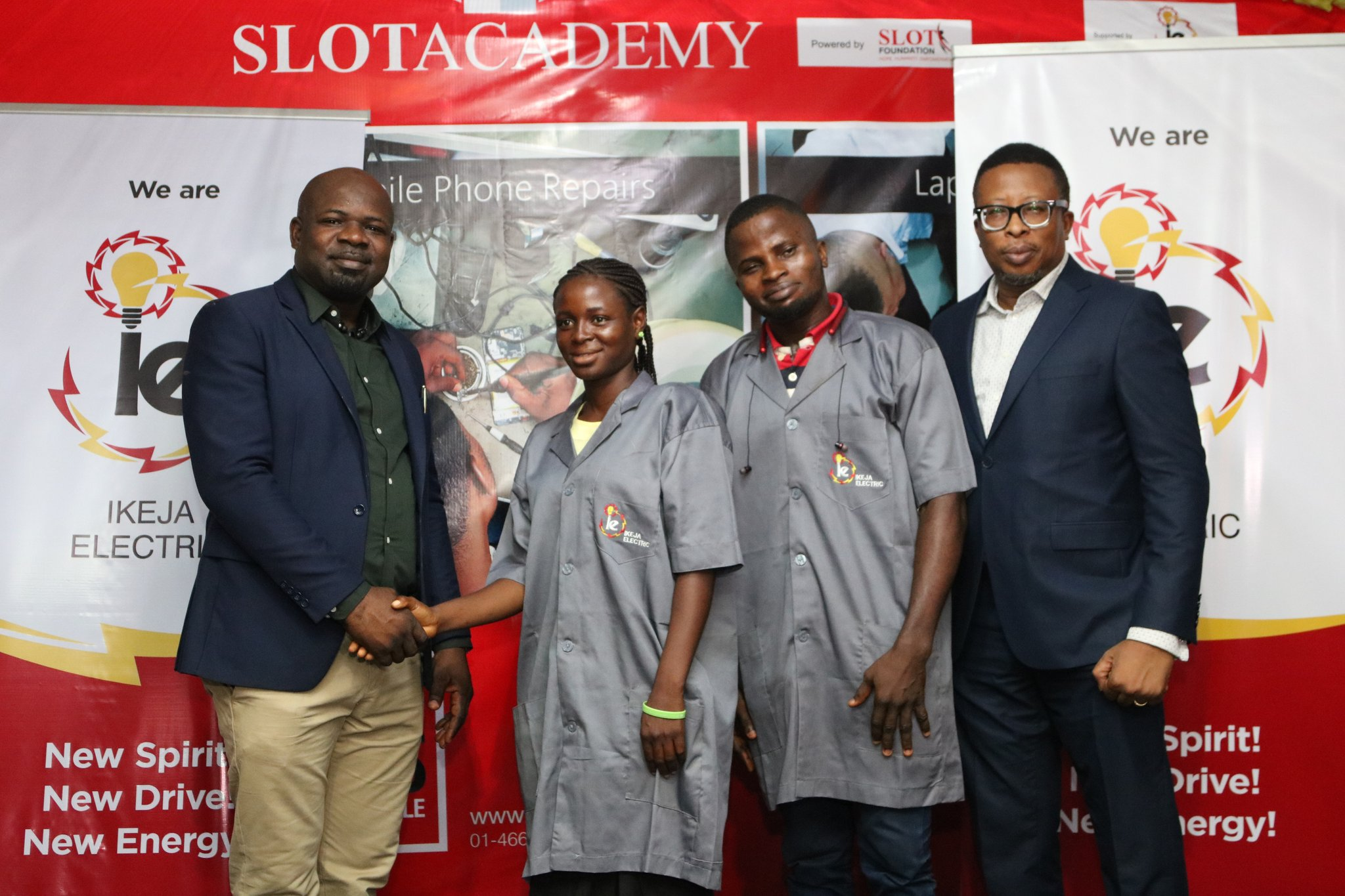 Youth Empowerment: Ikeja Electric partners Slot Foundation to train 40 youths