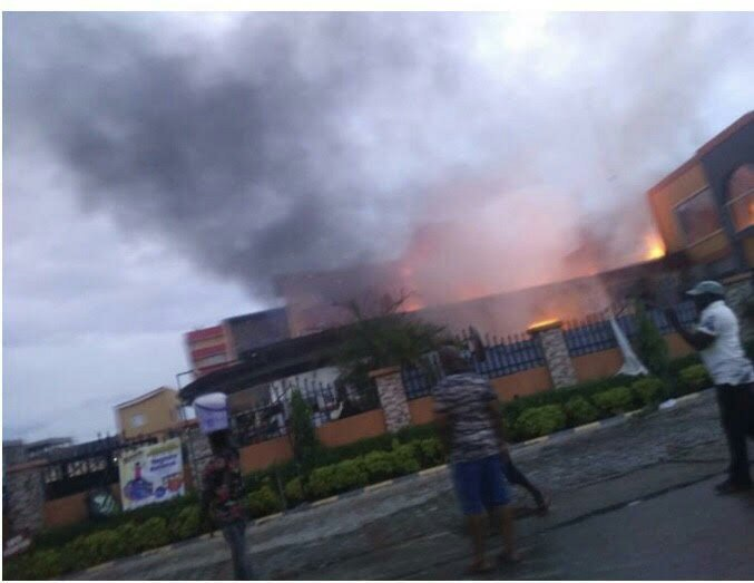 Popular Soul Lounge in Abuja gutted by fire