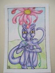 """""""Baby Dragon with Flower"""" by @Gerridwynn9"""
