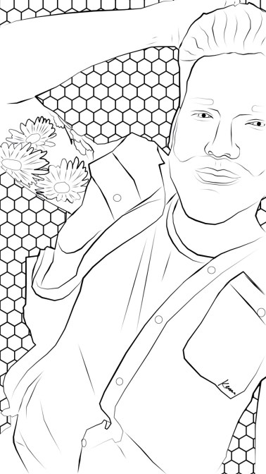 Coloring page by @kennatonix
