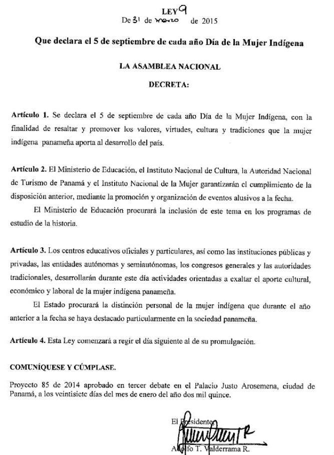 Declaran-Dia-Mujer-Indigena-Panama_LPRIMA20150401_0079_1