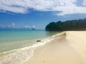 Isla Viveros Beach