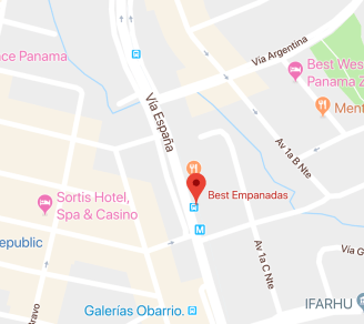 Empanadas Map