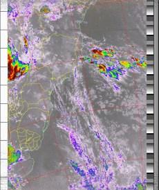NOAA 19 03/03/15 04:20 UTC - 137.100 MHz
