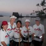 Makapo Crew Race Prep = Smiles!