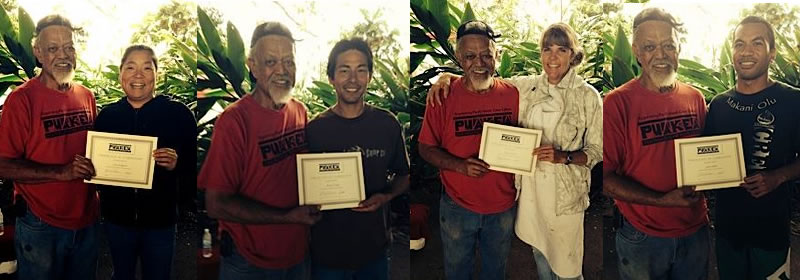 puakea paddle workshop graduates