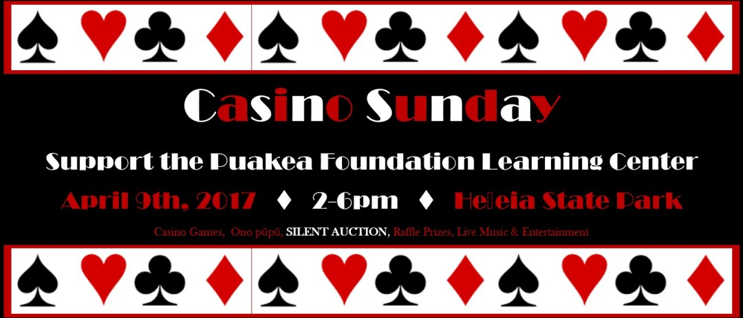 Casino Sunday 2017