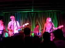Jenny Lewis playing at Doug Fir Lounge