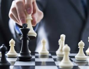 Chess and hand