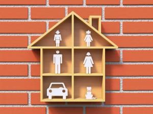 family child children house population demographics dollhouse brick