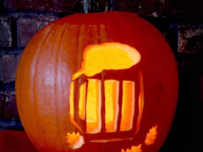 Пиво на хеллоуин