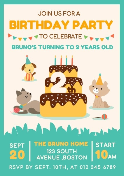 make birthday invitation cards online