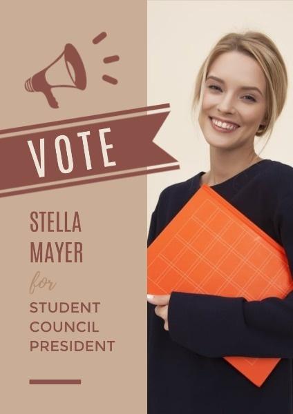 vote poster maker create vote poster
