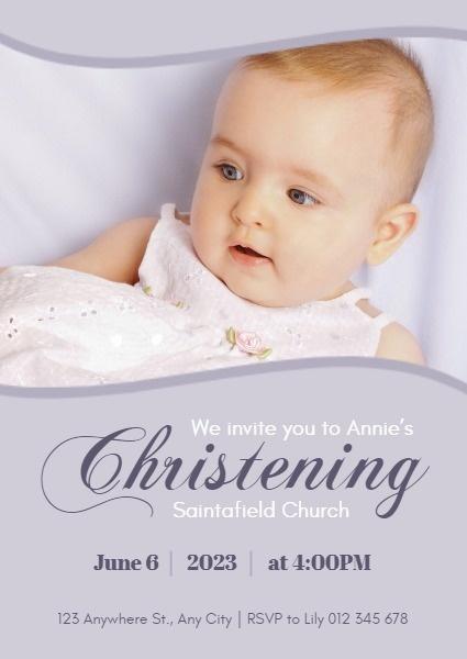 Baby Maker Free Online : maker, online, Online, Christening, Templates, Layouts, Fotor, Design, Maker